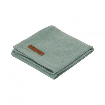 Little Dutch Musselin Swaddle Tuch / Pucktuch Pure Mint 120x120 cm TE50430110