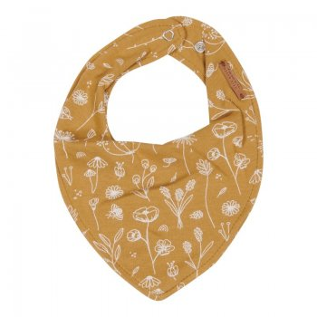 Little Dutch Bandana Lätzchen Wild Flowers Ochre TE50121080