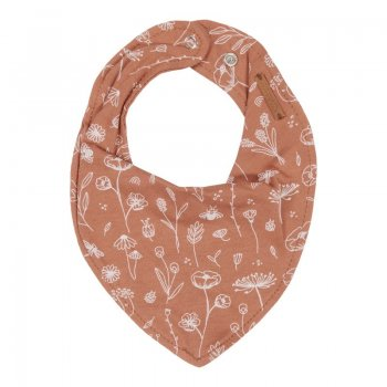 Little Dutch Bandana Lätzchen Wild Flowers Rust TE50121061