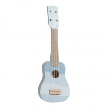 Little Dutch Holz Gitarre - blau - new blue LD7015