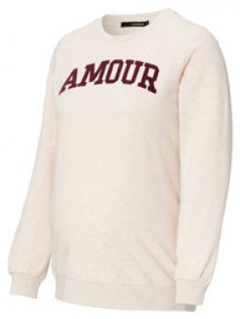 Supermom Pullover Amour 1270211 by noppies Umstands Sweater - tolle Umstandsmode von noppies