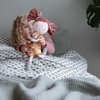 Little Dutch Kuschelpuppe Sophia 35 cm Pure & Nature Kollektion Charity-Puppe LD4526